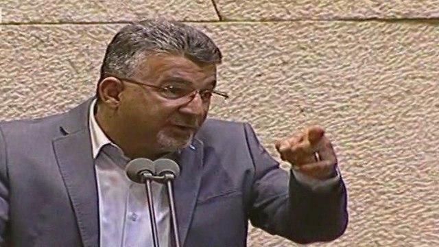 עימות במליאת הכנסת (צילום: ערוץ הכנסת)