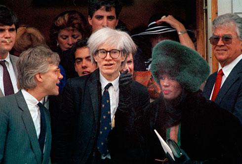 וורהול קיים במגזין ראיונות בלתי נשכחים, שכללו שאלות אינטימיות ובנאליות על חייהם של המפורסמים  (צילום: AP)