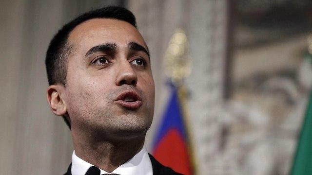 איטליה ממשלה חדשה לואיג'י די מאיו ג'וזפה קונטה (צילום: EPA)