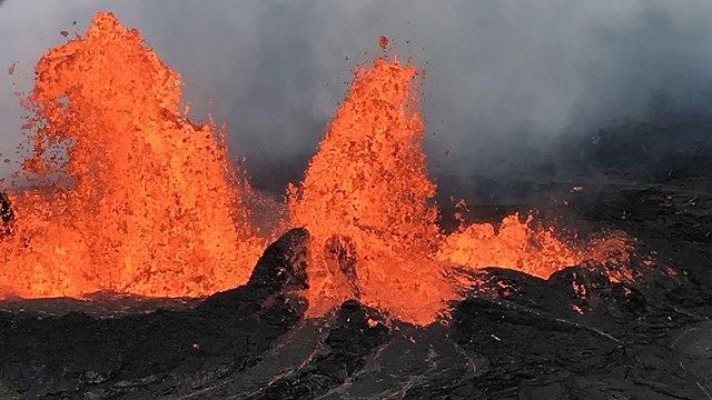 לבה הוואי הר הגעש קילוואה ארה