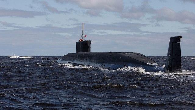 צוללת יורי דולגורסקי רוסיה (צילום: AP)