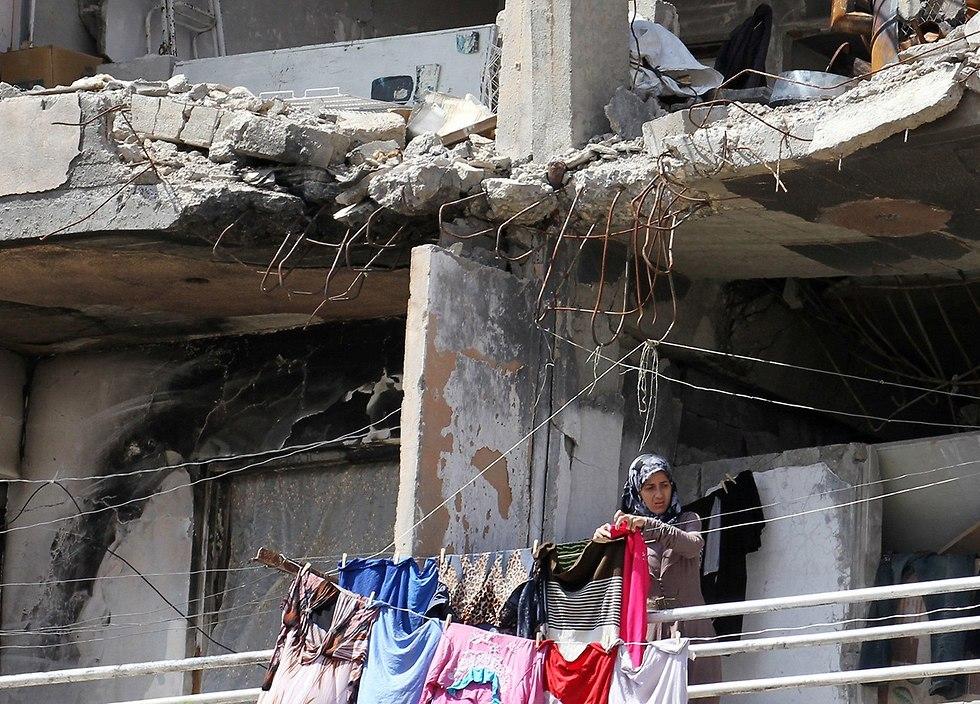רמדאן א-רקה רקה בירת דאעש סוריה (צילום: רויטרס)