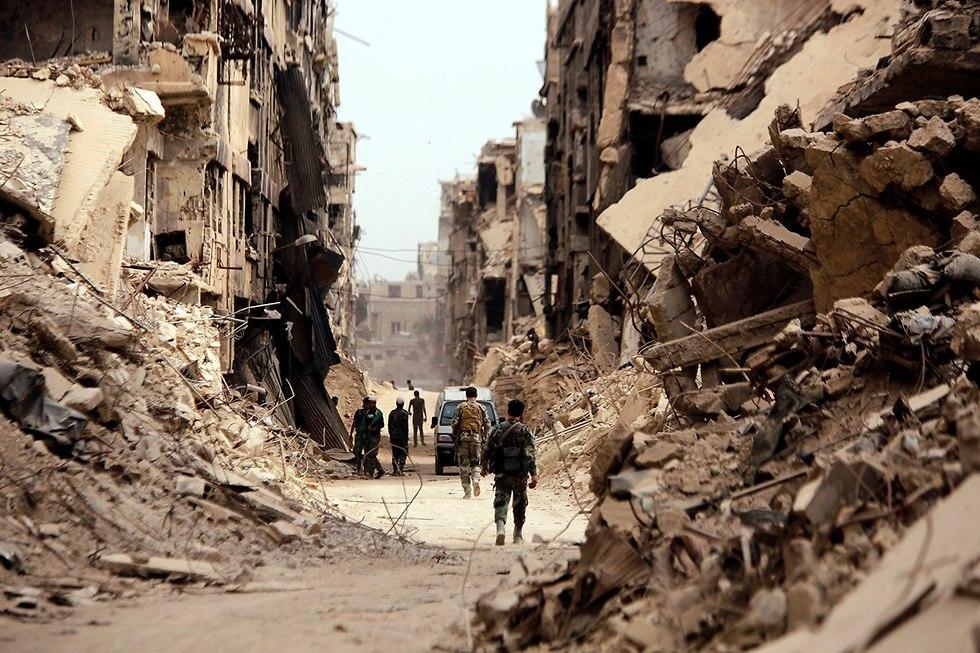 Yarmouk Refugee Camp (צילום: רויטרס)