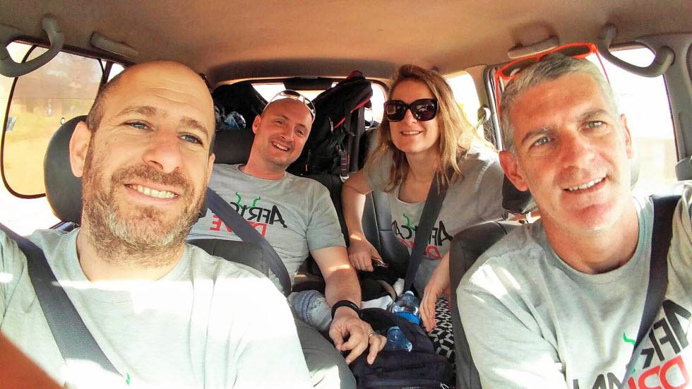חוצים את מזרח אפריקה בנהיגה עצמית - צוות 4 - מסע אפריקן דרייב (צילום: גיא צוקרמן )