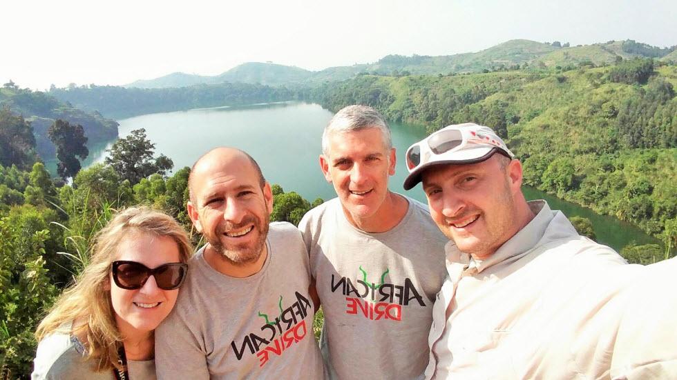 צוות 4 חוצה את מזרח אפריקה (צילום: גיא צוקרמן )