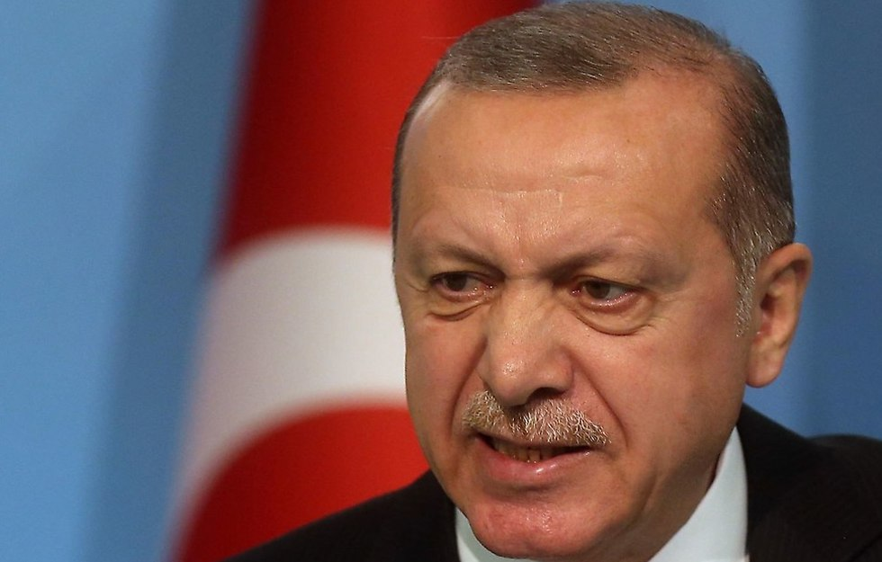נשיא טורקיה רג'פ טאיפ ארדואן (צילום: MCT)