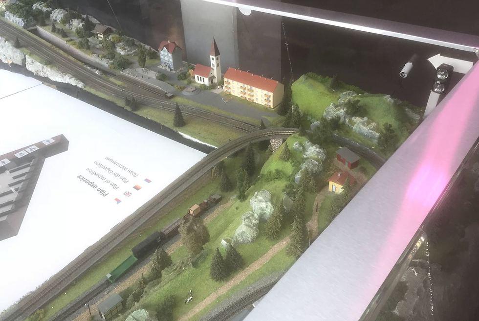 מוזיאון הרכבות (צילום: גיא ויצלינג)
