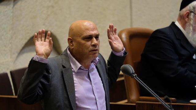 ויכוח במליאת הכנסת בין פריג' לארדן (צילום: יואב דודקביץ)