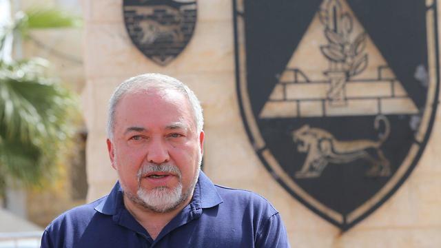 Defense Minister Lieberman (Photo: Alex Kolomoisky)