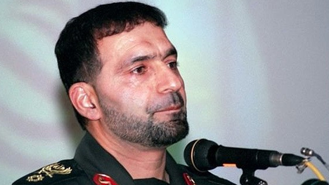 חסן טהרני מוקדם משמרות המהפכה קצין בכיר נהרג פיצוץ איראן ליד טהרן ()