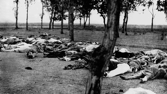 ארמנים שנספו ב-1915 (צילום: shutterstock)