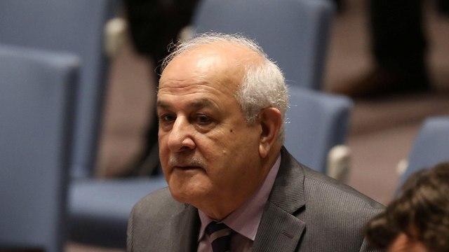 Palestinian UN Ambassador Riyad Mansour  (Photo: Reuters)