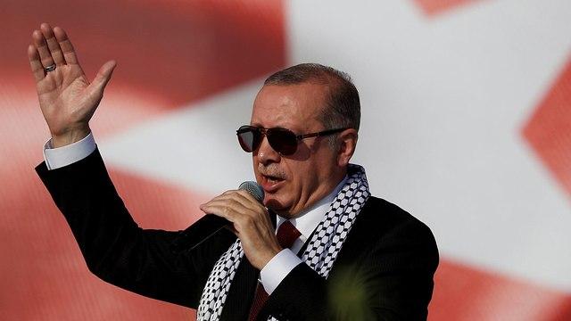 נשיא טורקיה רג'פ טאיפ ארדואן (צילום: רויטרס)