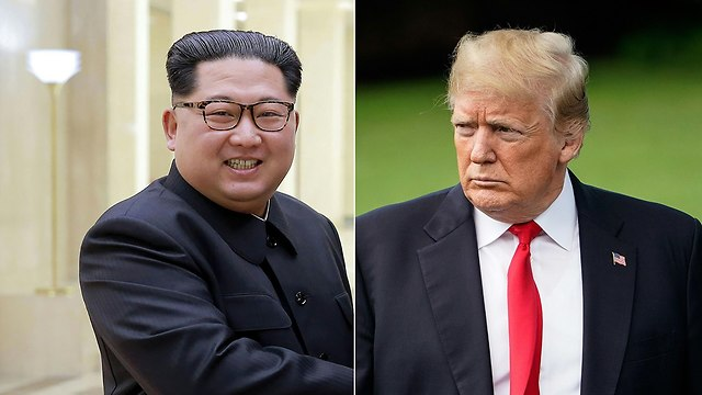 Trump and Kim (Photo: AFP)