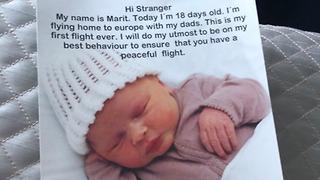 נייל הורן על הודעה מפתיעה במטוס (צילום: טוויטר)