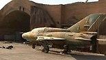 מטוס קרב בבסיס הסורי. ארכיון