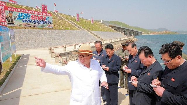 קים ג'ונג און (צילום: EPA)
