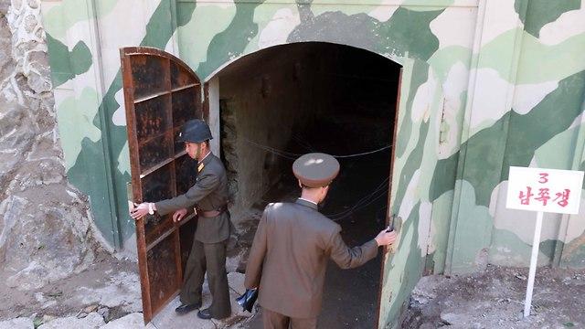 אתר הגרעין (צילום: AFP)