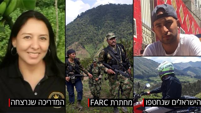 מוניקה ביאטריס בלנקו הרוגה גלאל יעקב עמר יפת חטופים ארגון farc קולומביה (צילום: AP)