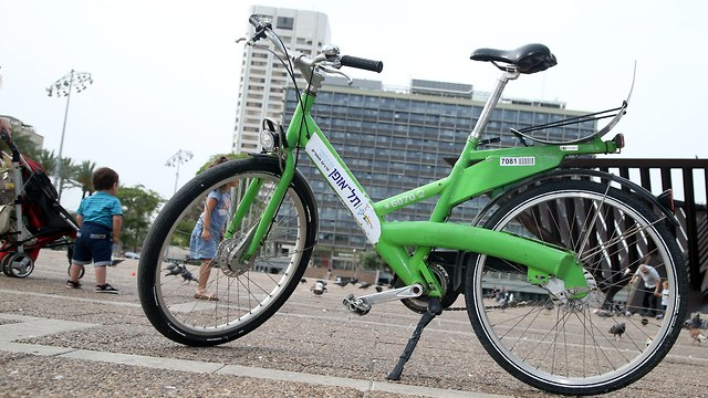 Велосипеды напрокат в Тель-Авиве. Фото: Ярив Кац