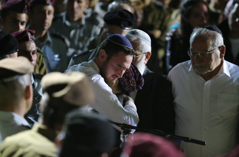 Ronen's brother, Arik. 'I love you, I salute you' (Photo: Amit Shabi)