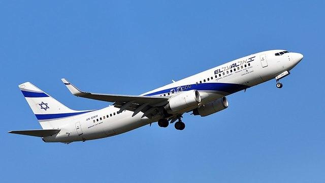 """Самолет """"Эль-Аль"""". Фото: shutterstock"""