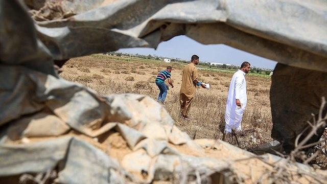 המוצב ברפיח (צילום: AFP)