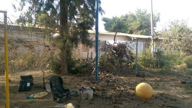 Mortar lands in Kindergarten yard