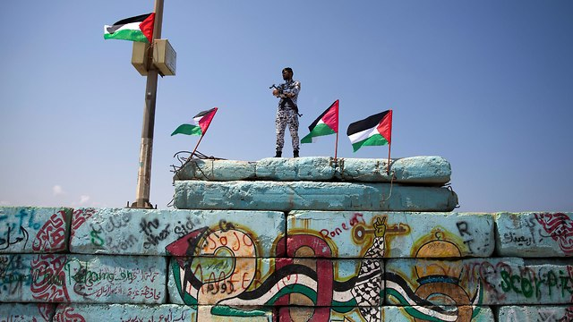 A Hamas policeman in Gaza. Hamas' sensitivity is first and foremost towards its rule (Photo: AP)