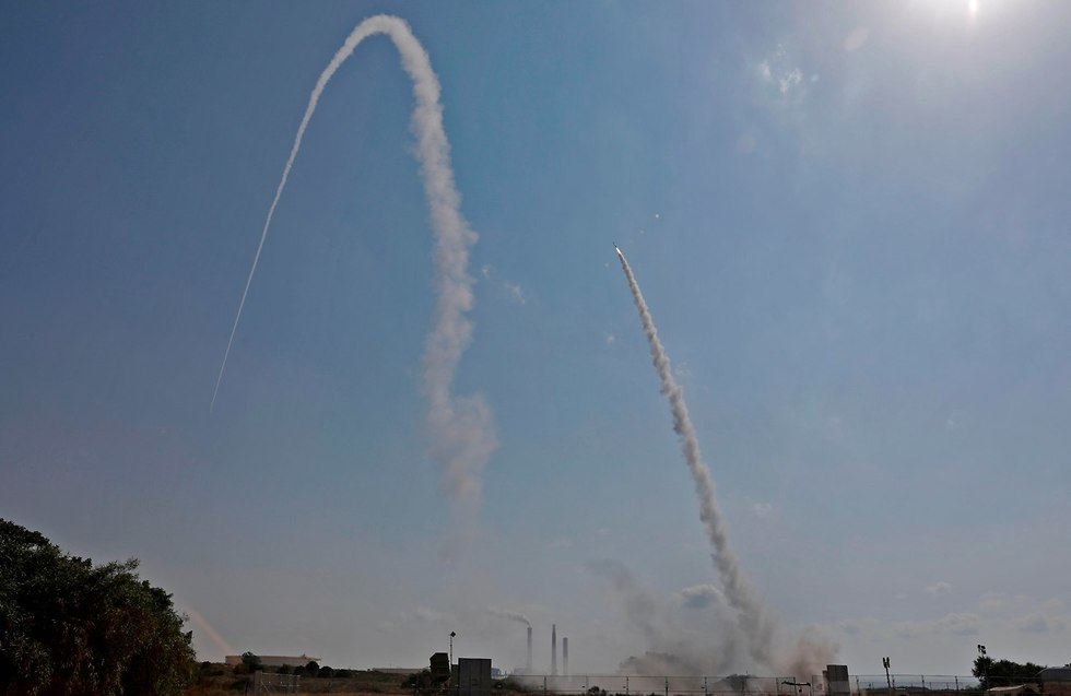 Iron Dome intercepts rockets fired from Gaza (Photo: AFP)