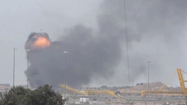 Взрыв туннеля. Фото: пресс-служба ЦАХАЛа