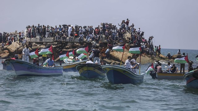 Gaza flotilla (Photo: MCT)