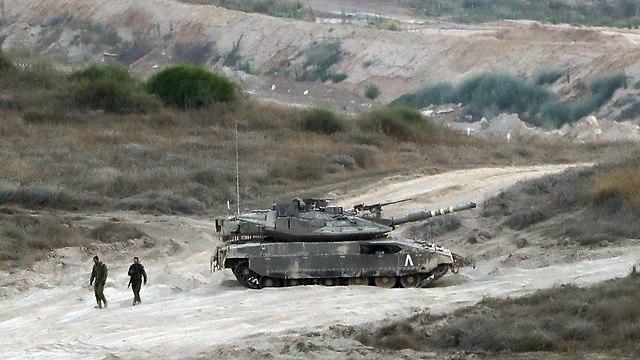 IDF forces near Gaza border (Photo: AFP)
