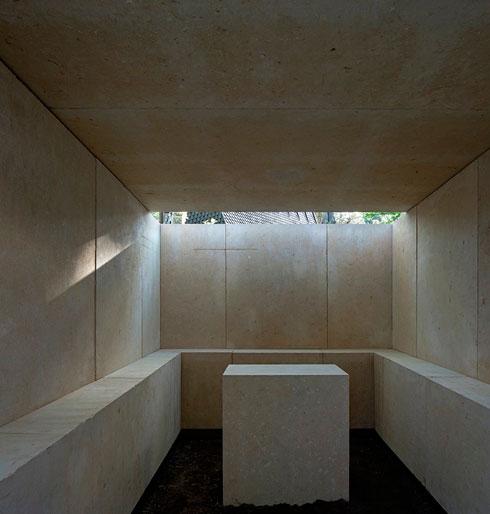 קל לראות בקאפלה הזו מבנה קבר. סוטו דה מורה מדגיש: זה לא (צילום: Alessandra Chemollo)