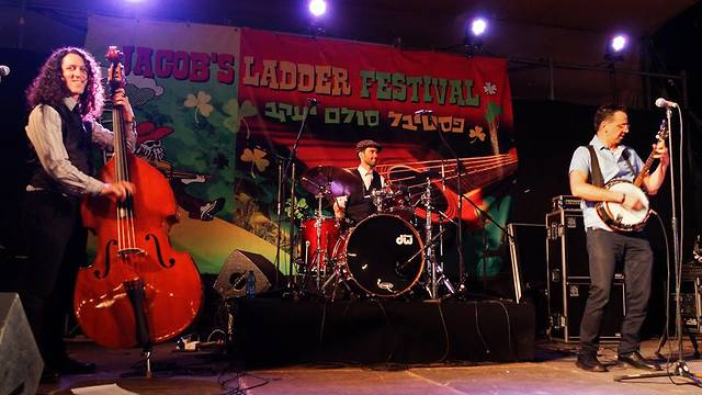 Live performance at the Jacob's Ladder festival