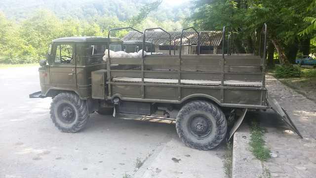 טיול בכפרים הצ'רקסים עם המשאיות הישנות (צילום: דניאל אבשלום)