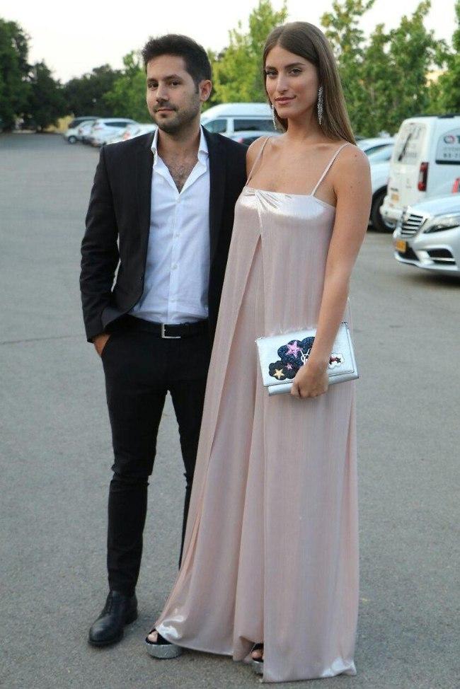 כבר זוג נשוי. דנה זרמון וגיא ביטון (צילום: אמיר מאירי)