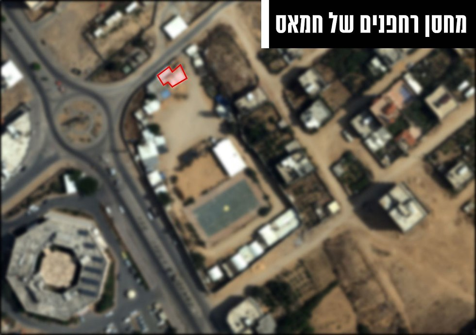 תצלומי אוויר של חלק ממטרות הטרור שהותקפו ע״י חיל האוויר (צילום: דובר צה