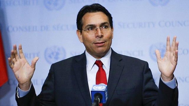 Israel's UN Ambassador Danny Danon (Photo: AFP)