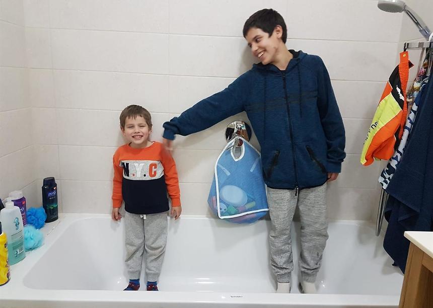 האתגר - שכל ילד ירגיש שהוא מקבל יחס (צילום: אלבום פרטי)