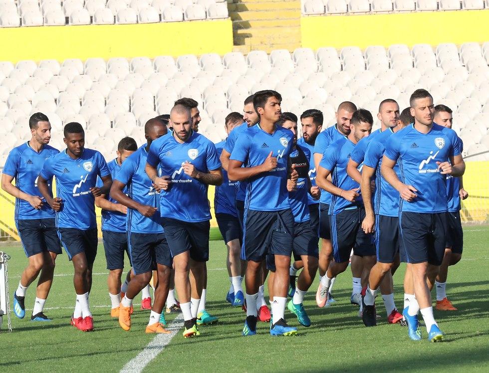 Сборная Израиля готовится к игре с Аргентиной. Фото: Орен Ахарони