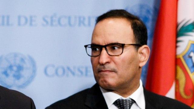 Kuwait's UN Ambassador Mansour Al-Otaibi (Photo: AFP)