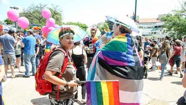 מצעד הגאווה בכפר סבא 2018 ( צילום: יריב כץ)