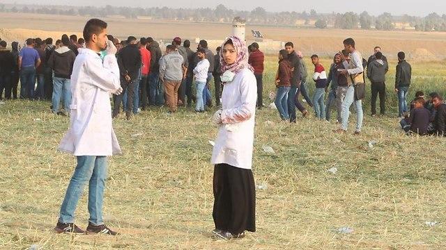 הרוגה פלסטינית עזה ()