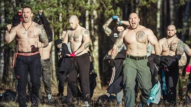 חוליגנים רוסים יורו 2016 (צילום: מתוך הפייסבוק)