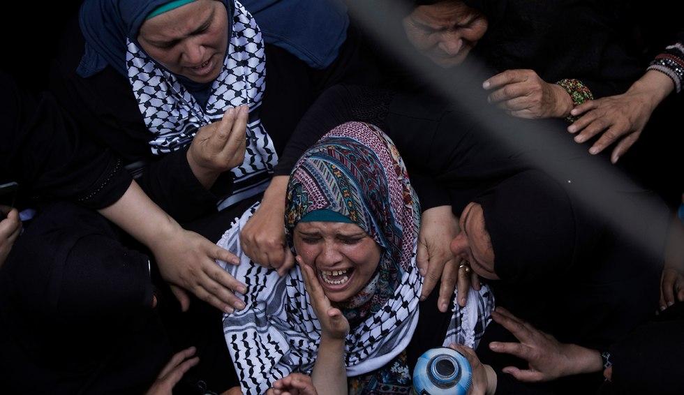 Najjar's funeral, the Gaza Strip (Photo: AP)