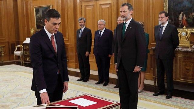 ספרד פדרו סנצ'ס פדרו סנצ'ז ראש ממשלה  (צילום: gettyimages)