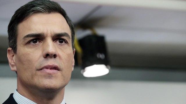 ספרד פדרו סנצ'ס פדרו סנצ'ז ראש ממשלה (צילום: EPA)