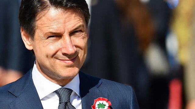איטליה ראש ממשלה חדש ג'וזפה קונטה (צילום: AFP)