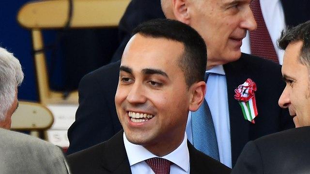 איטליה ממשלה חדשה שר הפנים לואיג'י די מאיו (צילום: AFP)